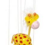 Marioneta žirafa