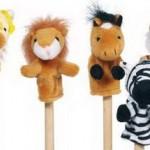 Živali, naprstne lutke
