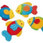 Ribice s šumečo folijo